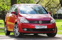 Volkswagen Golf Plus BlueMotion с разход от 4.3л/100км.
