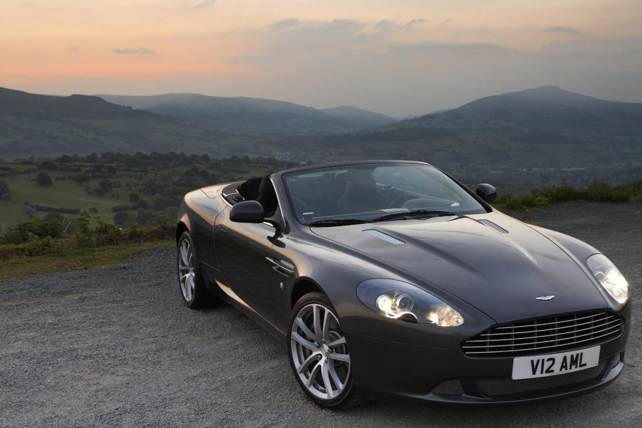 Aston Martin DB9 Facelift 2011