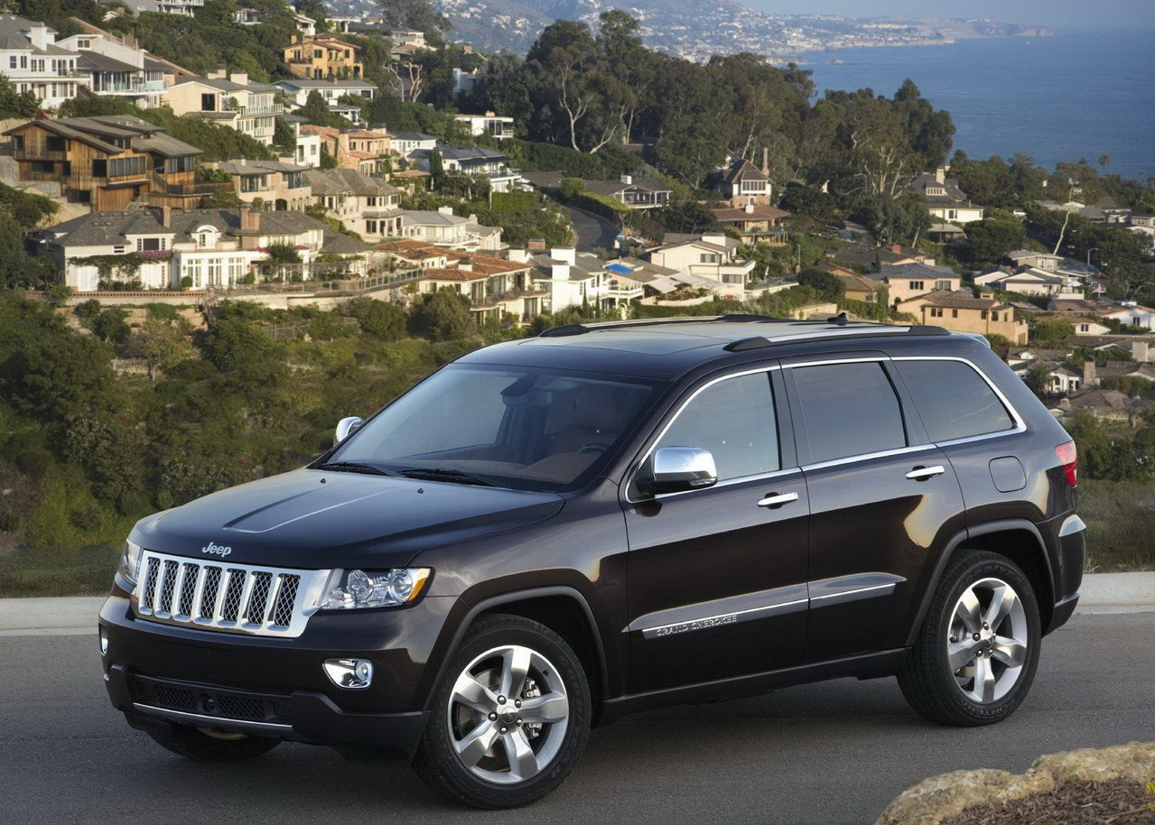 Jeep Grand Cherokee Overland Summit и Jeep Liberty Jet